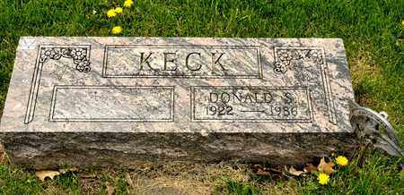 KECK, DONALD S - Richland County, Ohio | DONALD S KECK - Ohio Gravestone Photos
