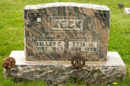 KECK, VALLEY C - Richland County, Ohio | VALLEY C KECK - Ohio Gravestone Photos
