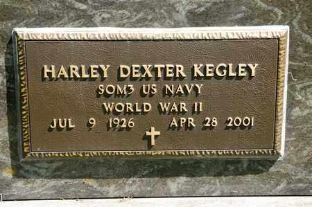 KEGLEY, HARLEY DEXTER - Richland County, Ohio   HARLEY DEXTER KEGLEY - Ohio Gravestone Photos