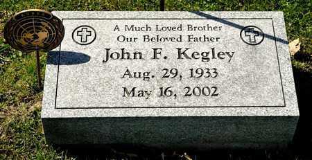 KEGLEY, JOHN F - Richland County, Ohio | JOHN F KEGLEY - Ohio Gravestone Photos