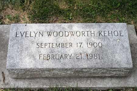 KEHOE, EVELYN - Richland County, Ohio | EVELYN KEHOE - Ohio Gravestone Photos