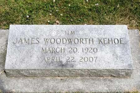 KEHOE, JAMES WOODWORTH - Richland County, Ohio | JAMES WOODWORTH KEHOE - Ohio Gravestone Photos