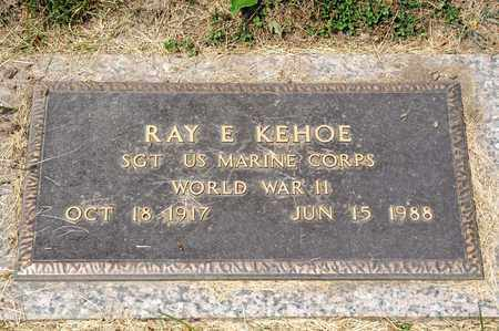 KEHOE, RAY E - Richland County, Ohio   RAY E KEHOE - Ohio Gravestone Photos
