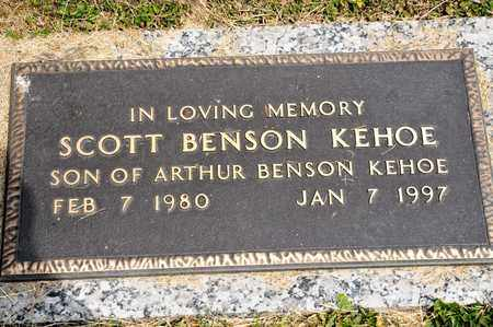 KEHOE, SCOTT BENSON - Richland County, Ohio | SCOTT BENSON KEHOE - Ohio Gravestone Photos