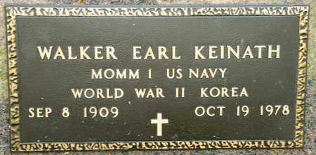 KEINATH, WALKER EARL - Richland County, Ohio   WALKER EARL KEINATH - Ohio Gravestone Photos