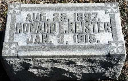 KEISTER, HOWARD E - Richland County, Ohio | HOWARD E KEISTER - Ohio Gravestone Photos