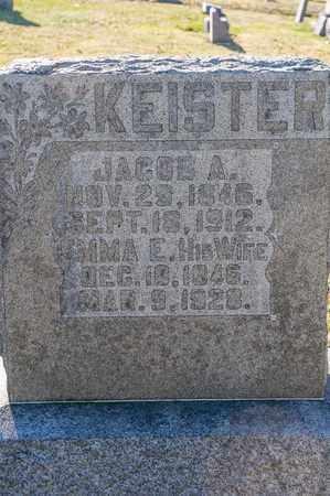 KEISTER, JACOB A - Richland County, Ohio   JACOB A KEISTER - Ohio Gravestone Photos