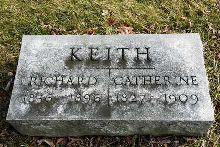 KEITH, RICHARD - Richland County, Ohio | RICHARD KEITH - Ohio Gravestone Photos