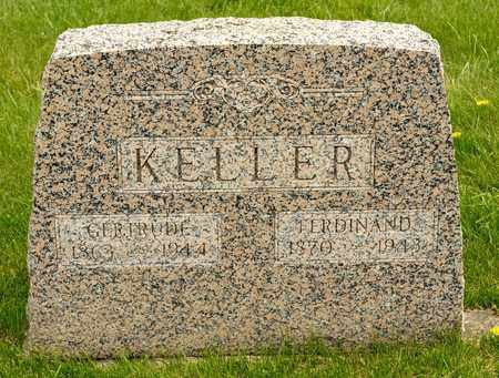 KELLER, GERTRUDE - Richland County, Ohio   GERTRUDE KELLER - Ohio Gravestone Photos