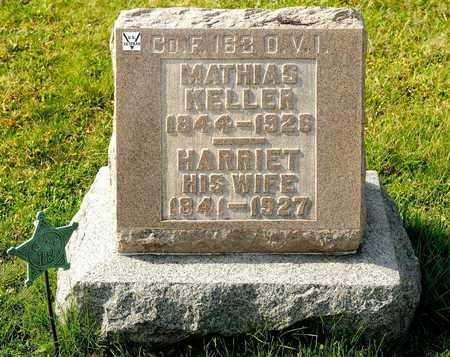 KELLER, MATHIAS - Richland County, Ohio | MATHIAS KELLER - Ohio Gravestone Photos
