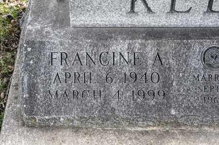 KELLY, FRANCINE A - Richland County, Ohio | FRANCINE A KELLY - Ohio Gravestone Photos