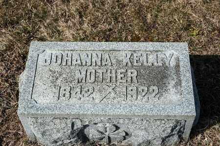 KELLY, JOHANNA - Richland County, Ohio | JOHANNA KELLY - Ohio Gravestone Photos
