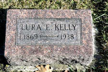 KELLY, LURA E - Richland County, Ohio   LURA E KELLY - Ohio Gravestone Photos