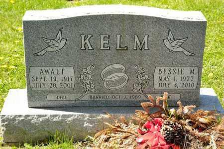 KELM, BESSIE M - Richland County, Ohio | BESSIE M KELM - Ohio Gravestone Photos