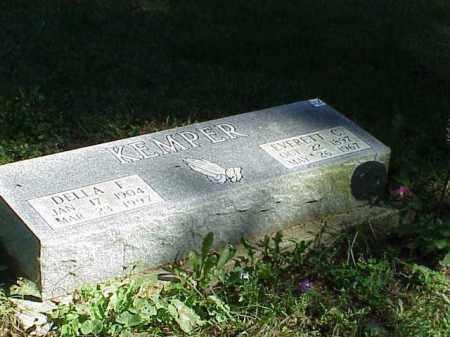 KEMPER, DELLA I - Richland County, Ohio | DELLA I KEMPER - Ohio Gravestone Photos