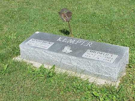 KEMPER, KENNETH - Richland County, Ohio | KENNETH KEMPER - Ohio Gravestone Photos