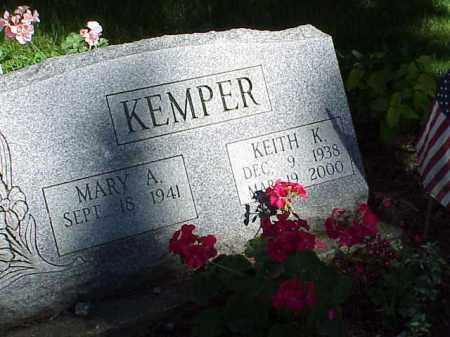 KEMPER, KEITH K. - Richland County, Ohio   KEITH K. KEMPER - Ohio Gravestone Photos