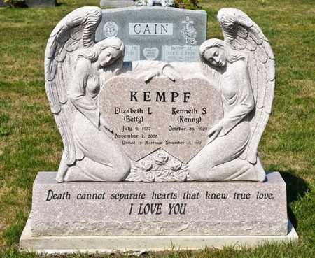 KEMPF, ELIZABETH L - Richland County, Ohio | ELIZABETH L KEMPF - Ohio Gravestone Photos