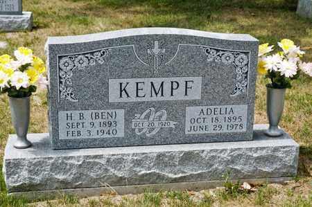 KEMPF, H B - Richland County, Ohio   H B KEMPF - Ohio Gravestone Photos
