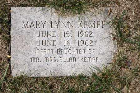 KEMPF, MARY LYNN - Richland County, Ohio | MARY LYNN KEMPF - Ohio Gravestone Photos