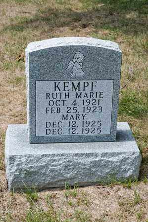 KEMPF, MARY - Richland County, Ohio | MARY KEMPF - Ohio Gravestone Photos