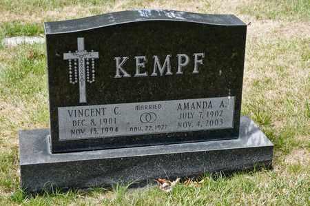 KEMPF, VINCENT C - Richland County, Ohio   VINCENT C KEMPF - Ohio Gravestone Photos