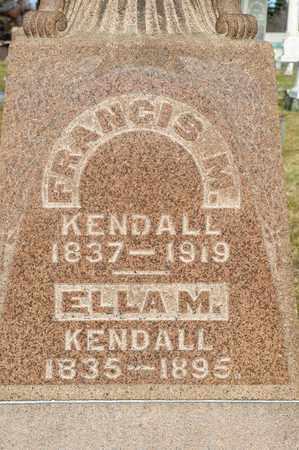 KENDALL, ELLA M - Richland County, Ohio   ELLA M KENDALL - Ohio Gravestone Photos