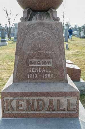 KENDALL, MARY - Richland County, Ohio | MARY KENDALL - Ohio Gravestone Photos