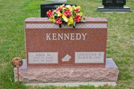 KENNEDY, JOHN M - Richland County, Ohio   JOHN M KENNEDY - Ohio Gravestone Photos