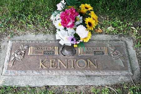 KENTON, WALTER M - Richland County, Ohio | WALTER M KENTON - Ohio Gravestone Photos
