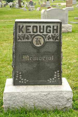 KEOUGH, FLORENCE J - Richland County, Ohio | FLORENCE J KEOUGH - Ohio Gravestone Photos