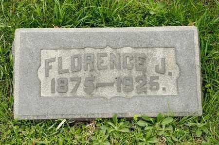 KEOUGH, FLORENCE J - Richland County, Ohio   FLORENCE J KEOUGH - Ohio Gravestone Photos