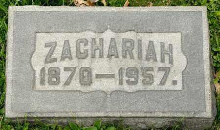 KEOUGH, ZACHARIAH - Richland County, Ohio   ZACHARIAH KEOUGH - Ohio Gravestone Photos