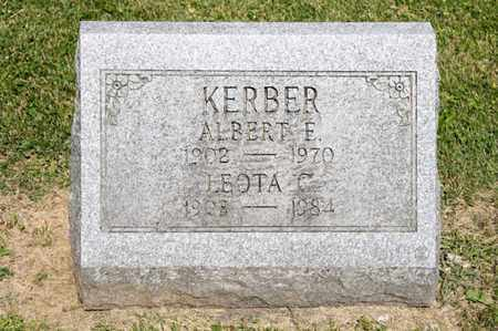 KERBER, LEOTA C - Richland County, Ohio | LEOTA C KERBER - Ohio Gravestone Photos