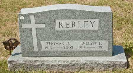 KERLEY, THOMAS J - Richland County, Ohio | THOMAS J KERLEY - Ohio Gravestone Photos