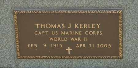 KERLEY, THOMAS J - Richland County, Ohio   THOMAS J KERLEY - Ohio Gravestone Photos