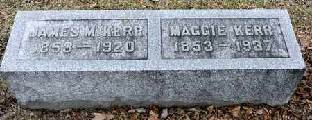 KERR, JAMES M - Richland County, Ohio | JAMES M KERR - Ohio Gravestone Photos