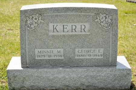 KERR, MINNIE M - Richland County, Ohio | MINNIE M KERR - Ohio Gravestone Photos