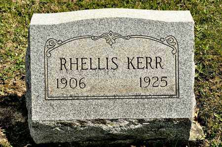 KERR, RHELLIS - Richland County, Ohio | RHELLIS KERR - Ohio Gravestone Photos