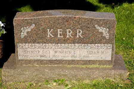 KERR, SPENCER S - Richland County, Ohio   SPENCER S KERR - Ohio Gravestone Photos