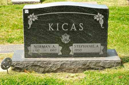 KICAS, NORMAN A - Richland County, Ohio | NORMAN A KICAS - Ohio Gravestone Photos