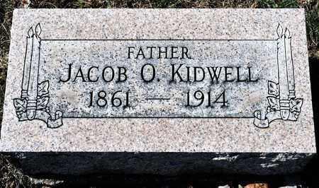 KIDWELL, JACOB O - Richland County, Ohio | JACOB O KIDWELL - Ohio Gravestone Photos