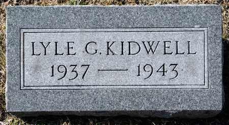 KIDWELL, LYLE G - Richland County, Ohio | LYLE G KIDWELL - Ohio Gravestone Photos