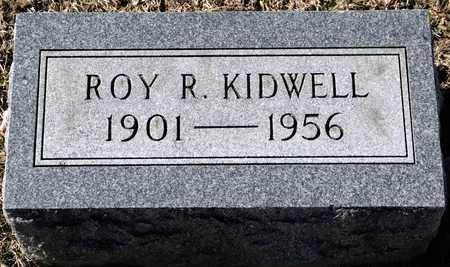 KIDWELL, ROY R - Richland County, Ohio | ROY R KIDWELL - Ohio Gravestone Photos