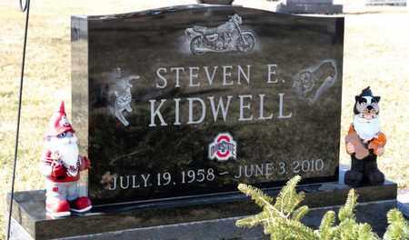 KIDWELL, STEVEN E - Richland County, Ohio | STEVEN E KIDWELL - Ohio Gravestone Photos
