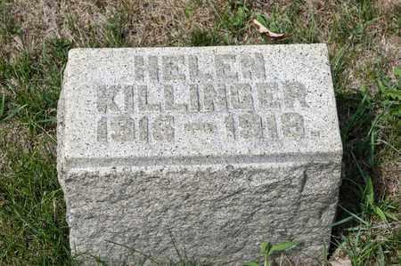 KILLINGER, HELEN - Richland County, Ohio   HELEN KILLINGER - Ohio Gravestone Photos