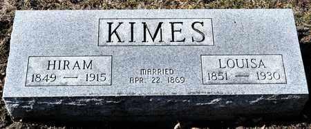 KIMES, LOUISA - Richland County, Ohio   LOUISA KIMES - Ohio Gravestone Photos