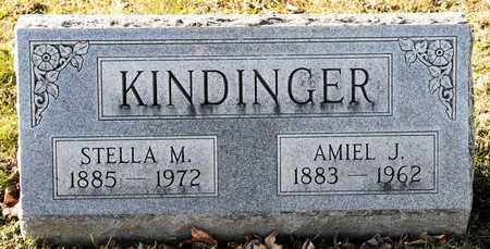 KINDINGER, AMIEL J - Richland County, Ohio | AMIEL J KINDINGER - Ohio Gravestone Photos