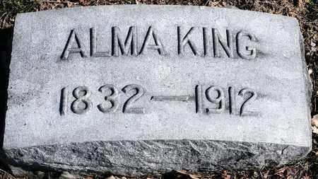 KING, ALMA - Richland County, Ohio | ALMA KING - Ohio Gravestone Photos
