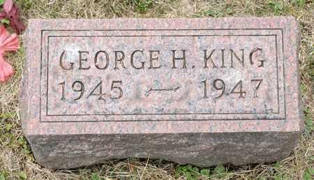 KING, GEORGE H - Richland County, Ohio   GEORGE H KING - Ohio Gravestone Photos